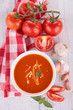 gazpacho, tomato soup