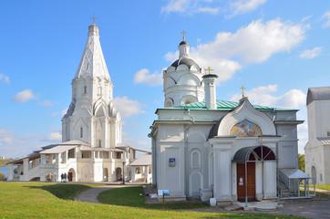 Церкви Георгия Победоносца и Вознесения Господня, Коломенское