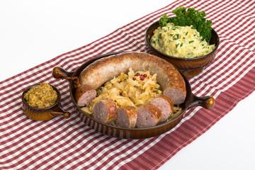 Hausmannskost- Bratwurst