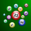 Vector bingo background - 73658148