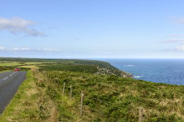 coast road near St Just, Cornwall