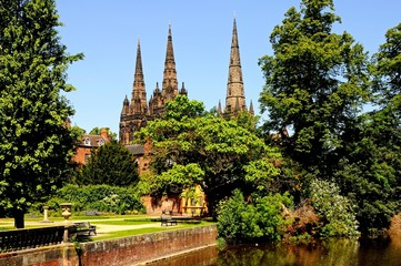 Lichfield Cathedral © Arena Photo UK