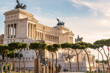 National Monument to Victor Emmanuel II in Rome