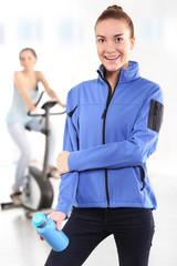 Trening na rowerze gimnastycznym