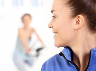 Zajęcia na siłowni