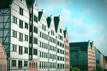 Gdansk retro. Cross processed color tone.