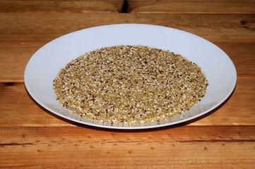 Quinoa and bulgar wheat © Arena Photo UK