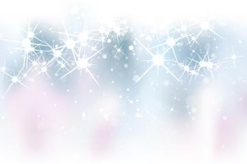 Sparkling Fireworks Background