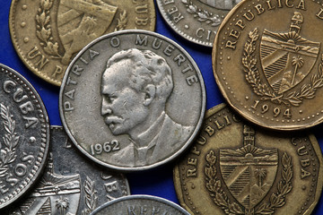 Coins of Cuba. Jose Marti.