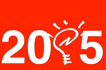 Anno nuovo 2015 con idea