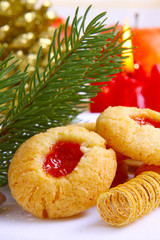 Christmas cookie.