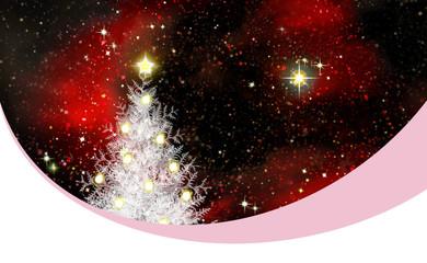 Creative Christmas tree .