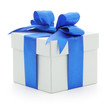 Gift box isolated - 73662182