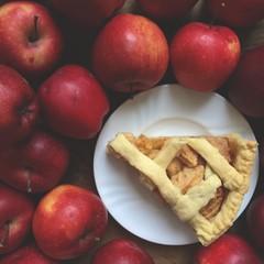 piece of apple pie