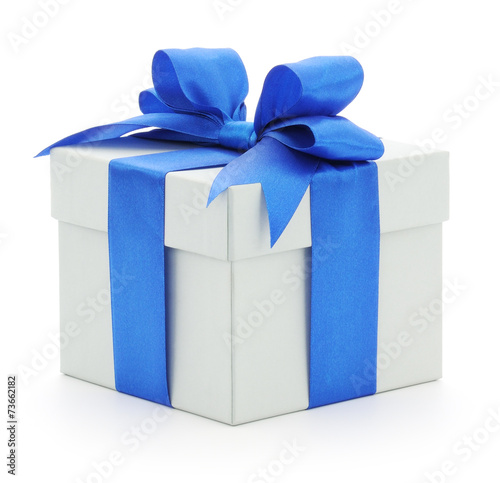 canvas print picture Gift box isolated