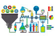Data lab vector illustration - 73663389