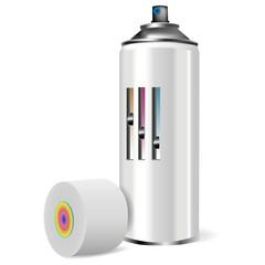 Баллончик с краской(Spray with paint)