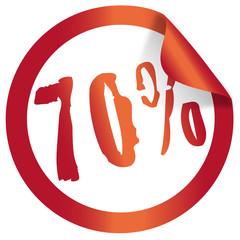 70 percent christmas icon