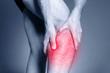 Calf leg pain, muscle injury