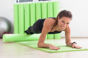 pilates training with ring