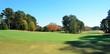 Golf Course in Autumn Season