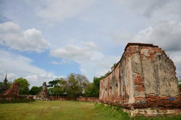 Putthaisawan Temple in Ayutthaya, Thailand