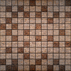 Stone tiles, stacked for seamless background