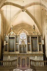 Pipe Organ Of Saint Michael Cathedral Built in 1291
