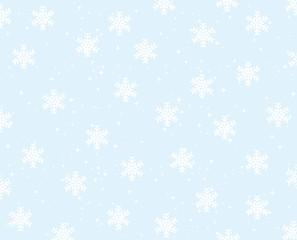 Snowflakes background.