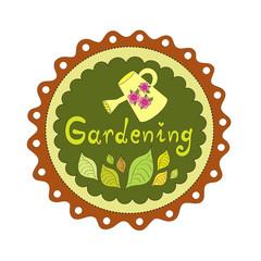 Badge Gardening