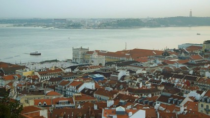 Panorama of Lisbon, Portugal