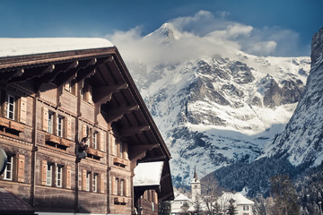Christmas in Swiss Alps hotel