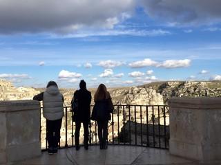 Balconata con vista sui Sassi di Matera