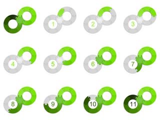 Circle Puzzle 11 - Green 2