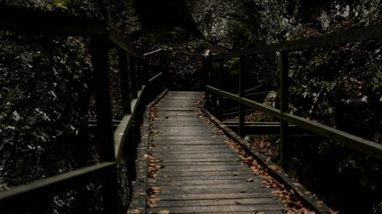 one of bridges in djavolji prolaz