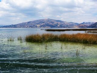 Bords du lac Titicaca, Amérique du Sud