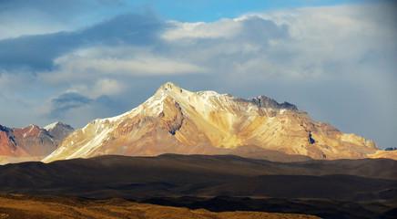 Cordillère des Andes au Pérou