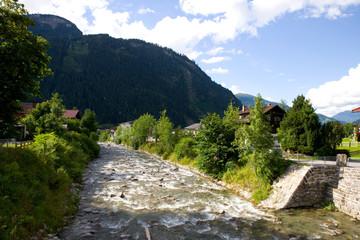 Ziller in Mayrhofen - Zillertaler Alpen - Österreich