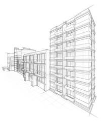 Architektur Entwurf