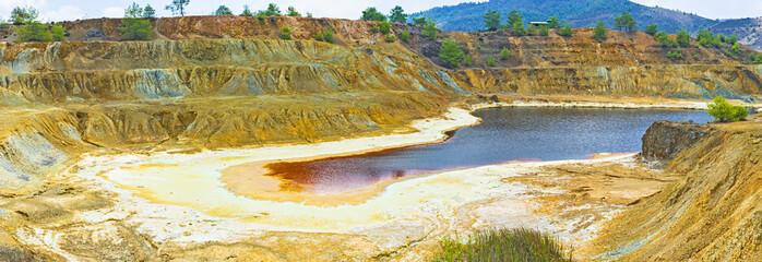 The mine of copper