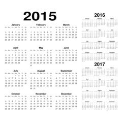 Calendarios 15-17