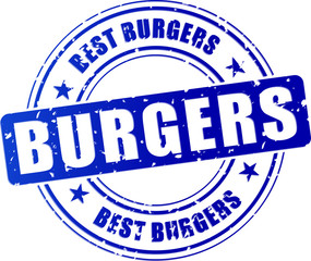 burgers blue stamp