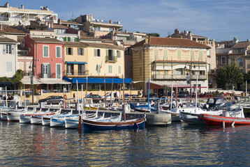 Cassis harbour, French riviera