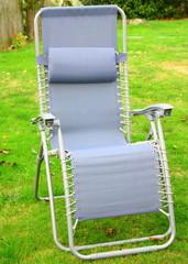 fauteuil relax dans le jardin