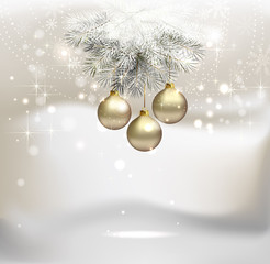 Arrière plan fond noel 2015 nouvel an boules noel