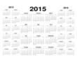 Calendarios 14-16