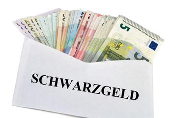 Kuvert mit Bargeld - Schwarzgeld