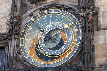 Astronomical clock, Prague.