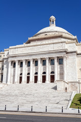Capitol of Puerto Rico.