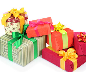 boxes of holiday